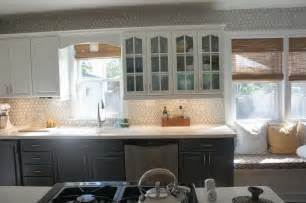 Kitchen Cabinets Pinterest Remodelaholic Gray And White Kitchen Makeover With