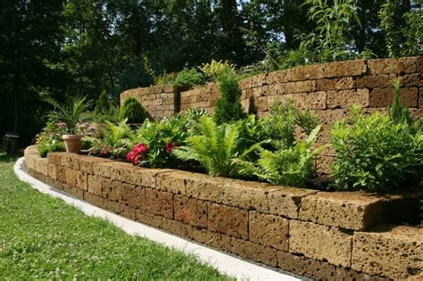 backyard retaining wall 27 backyard retaining wall ideas and terraced gardens