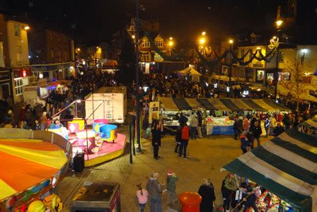 christmas eve street market 23rd december melton mowbray
