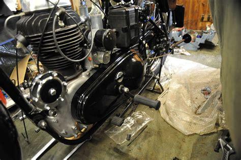Motorrad Kette Drauf Machen by Enfield Model G Restauration Bericht