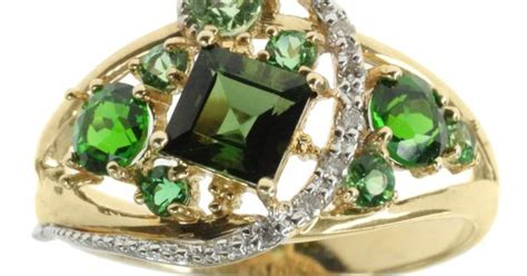 Overstock Introduces New Designer Store 2 4 by Michael Valitutti Chrome Diopside And 14k Gold