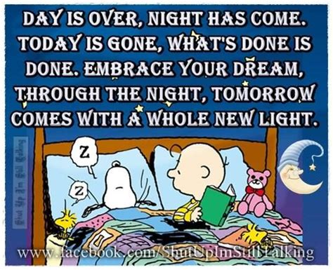 day   night   goodnight snoopy quote pictures   images  facebook