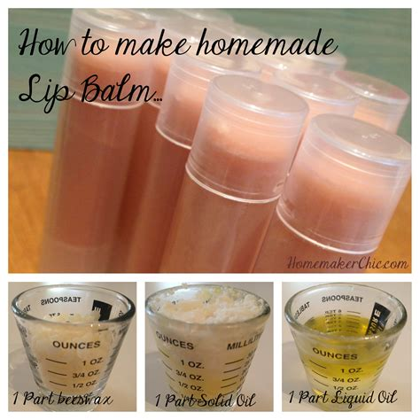 Handmade Lipbalm - citrus lip balm tutorial homemaker chic