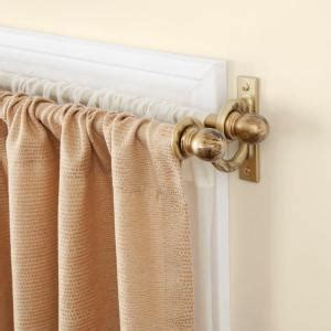130 curtain rod kenney 90 in 130 in telescoping 5 8 in double curtain