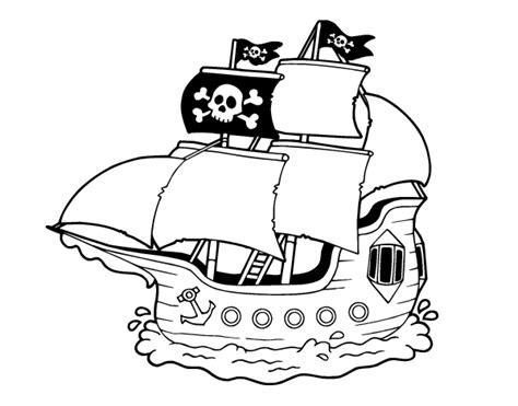 dibujos barcos de piratas dibujo de barco pirata para colorear dibujos net