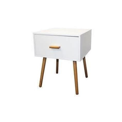 Table Chevet Scandinave table de chevet blanc design scandinave achat vente