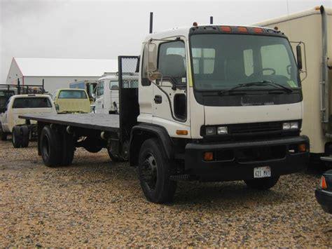 1998 isuzu ftr flatbed trucks