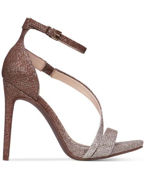 Sandal Wedges Wanita Silver Js 335 lyst rayli evening dress sandals in metallic