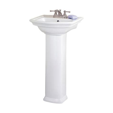 Small Pedestal Sink Barclay Washington Small Pedestal Bathroom Sink Column