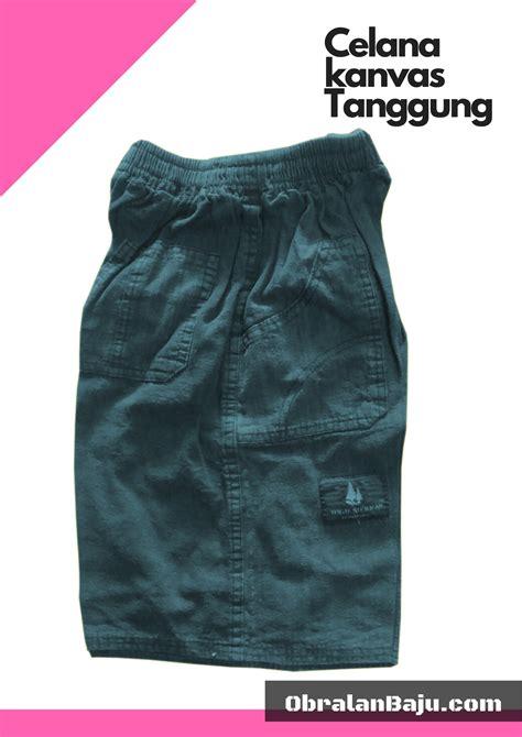Celana Harian Bahan Katun celana kanvas tanggung pusat grosir baju pakaian murah
