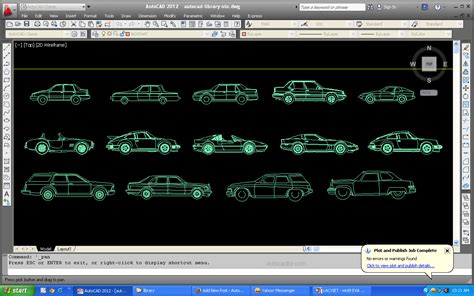 2d templates for autocad library car blocks in autocad 2d