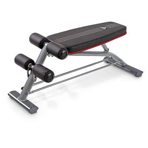 bench for crunches adidas 174 incline crunch bench 235733 at sportsman s guide