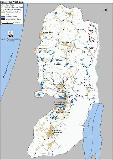 map of the west monitoring israeli colonization activities in the