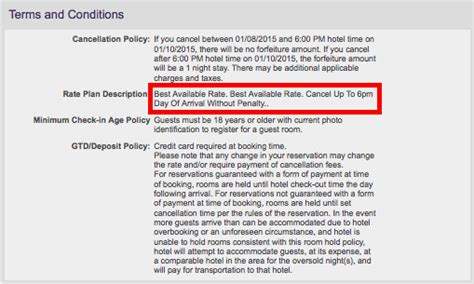 make hotel reservation without credit card starwood implements most restrictive cancellation policy