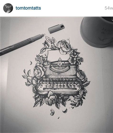 typewriter tattoo 1627 best cool tattoos images on