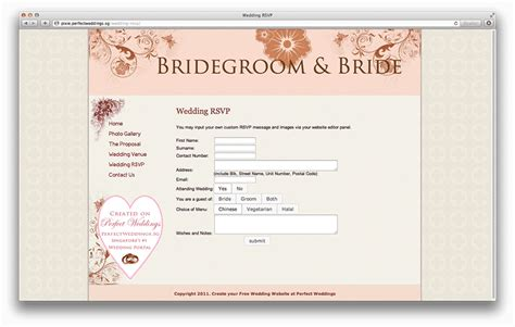 wedding rsvp website all you need to about wedding websites