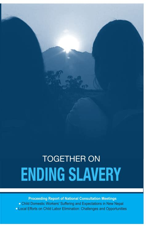 ending slavery how we together on ending slavery