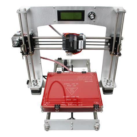 prusa i3 diy geeetech aluminum prusa i3 3d printer diy kit 5 i3 print size 200x200x180mm wholesale price pla