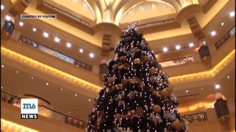 film pohon natal waw abu dhabi punya pohon natal termahal di dunia vidio com