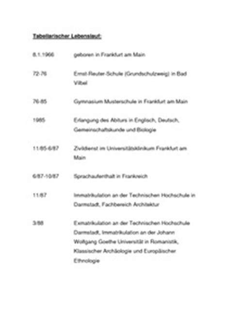 Tabellarischer Lebenslauf Dissertation Donald Judd