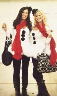 Homemade snowman costume christmas party costume halloweencostumes