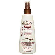 Silk Elements Hair Dryer megasilk heat protection spray at sally