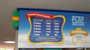 World Entry Ticket Price Current Gate Entrance Ticket Prices For Disney Disney S