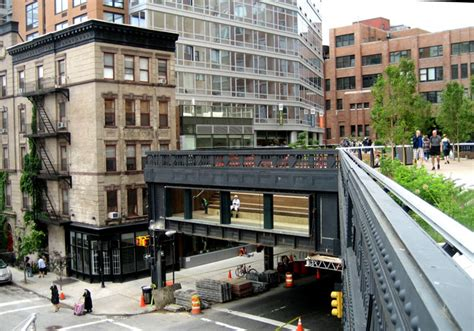 chelsea section of manhattan high line nyc