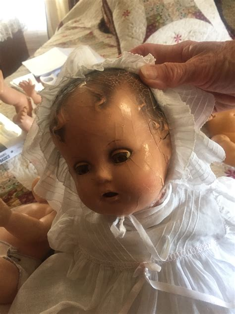 restoring composition dolls need help with restoring composition dolls baby