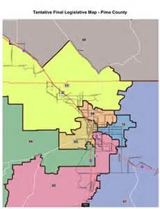 arizona legislative district map tentative maps