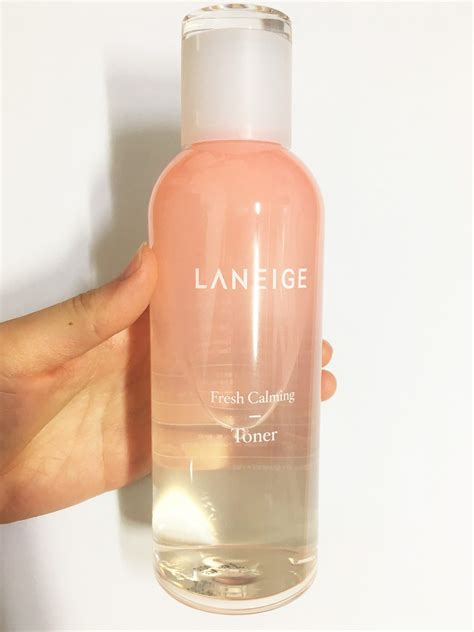 Laneige Fresh Calming Gel Clenaser review laneige fresh calming toner