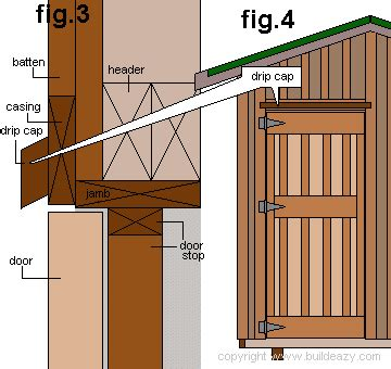 How To Hang A Shed Door by Shed Door Installation