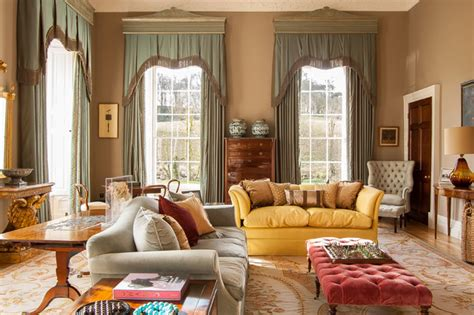 country house traditional living room