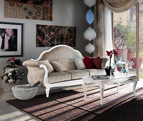 divani stile provenzale divano in stile classico provenzale in legno pregiato