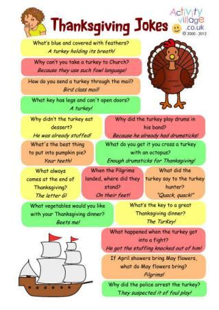 printable jokes for adults thanksgiving jokes