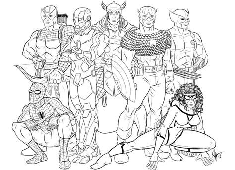 printable coloring pages avengers marvel heroes coloring pages az coloring pages