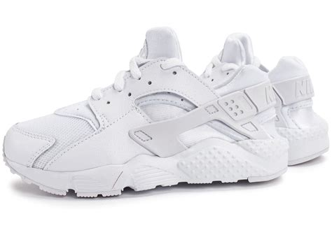 Chausures Enfant Nike by Nike Huarache Run Enfant Blanche Chaussures Black Friday Chausport