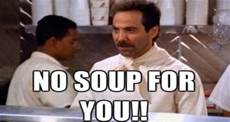 Message To Eli No Seinfeld For You no soup for you clinton s new message denies