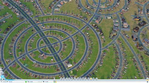 simcity zone layout simcity vs the suburban sprawl tested