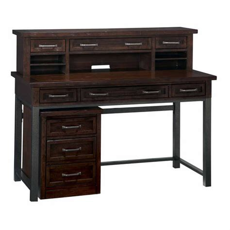 Home Source 5411 by Home Styles Cabin Creek Executive Desk Hutch Mobile