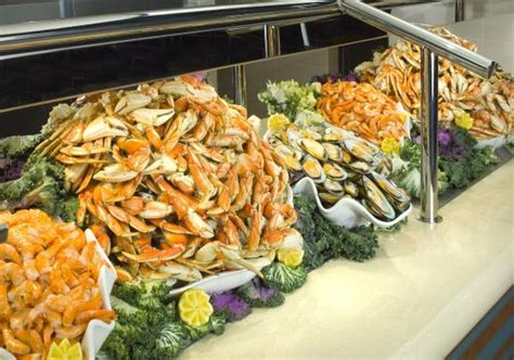 carvings buffet seafood station picture of harrah s reno
