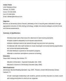 elementary school resume template free resume 40 free word pdf documents