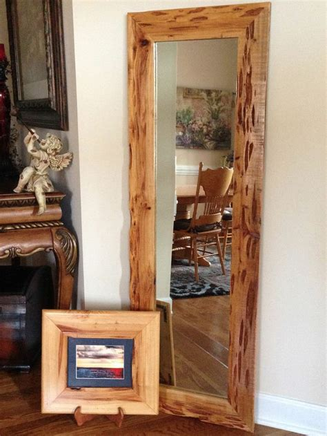 cypress home decor full length mirror in pecky cypress wood frame home