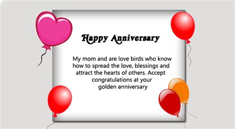 Wedding Anniversary Speech For Parents by Happy 50th Wedding Anniversary Wishes For Parents