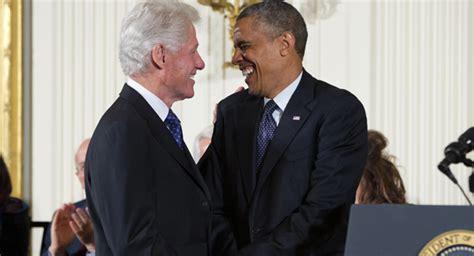 file barack obama and bill clinton in the oval office jpg no escaping bill clinton barack obama in arkansas josh