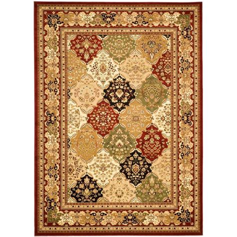 11 x 12 area rug safavieh lyndhurst multi 8 ft 11 in x 12 ft area rug lnh221b 9 the home depot