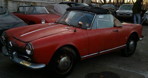 Alfa Romeo Restoration by 1962 Alfa Romeo Spider Normale Running Driving Restoration