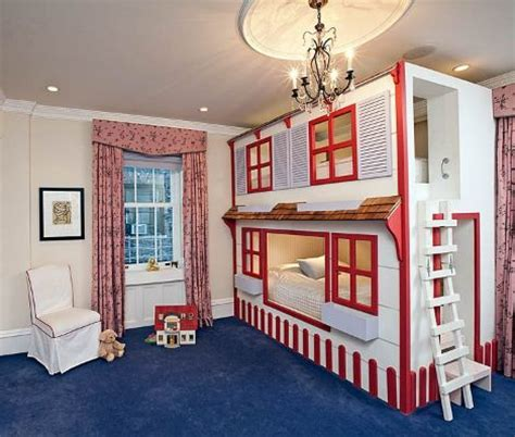 bunk bed house girls dollhouses and bunk bed plans on pinterest
