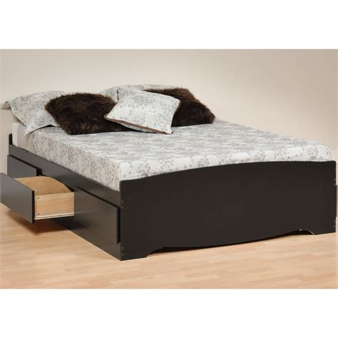 queen size pedestal bed with drawers contemporary bedroom design with queen size platform bed