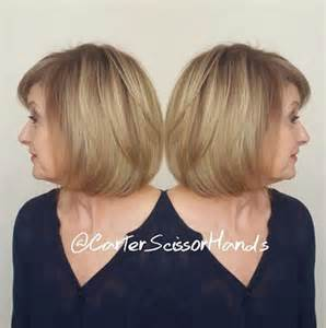 bob haircuts with bangs for 50 70 respectable yet modern hairstyles for women over 50